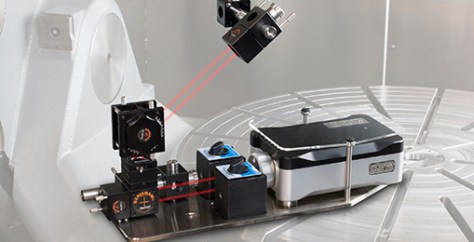 Linear diagonal measurement test with XL-80 laser