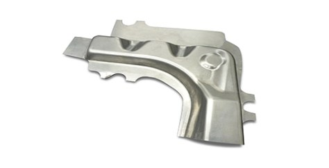 The newly developed technology of hot forming of aluminum sheet enables the forming of complex part shapes.
