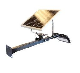 outdoor signage LED solar powered flood light with panel