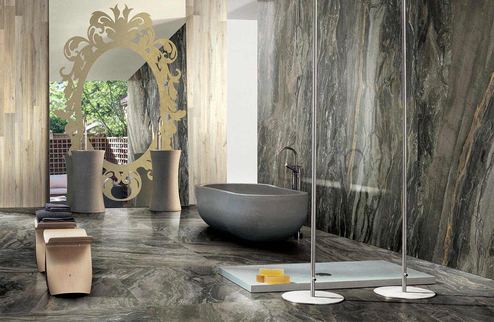 eurotilestoneprexiousdreamarabesquebathroom  Euro Tile  Stone Euro Tile  Stone