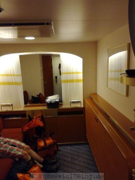 Für die Aida-Reisenden unter uns sicherlich das kleinste Zimmer der Welt - für uns Luxus^10