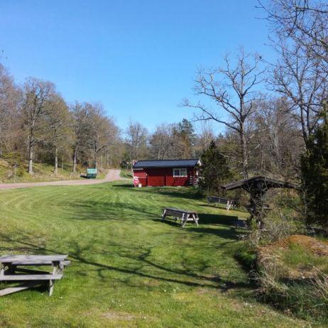 Naturcamping Blankaholm (nein, kein FKK-Camping!)