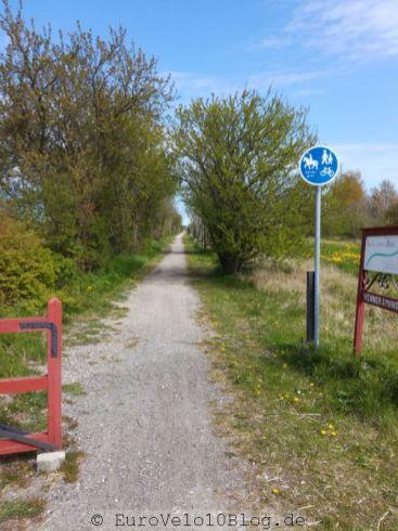 Radwege-Empfang in Dänemark
