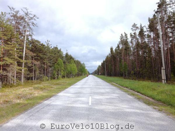 So gingen die Straßen kilometerlang...