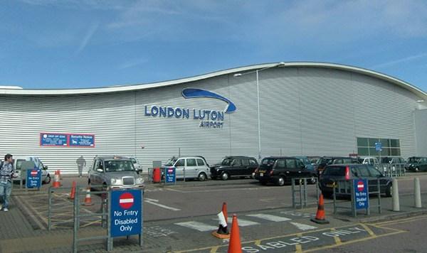 Aeropuerto Luton de Londres
