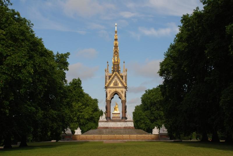 Albert Memorial en Londres