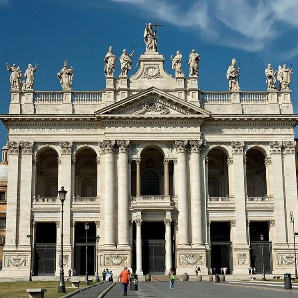 Basílica de San Juan de Letrán en Roma