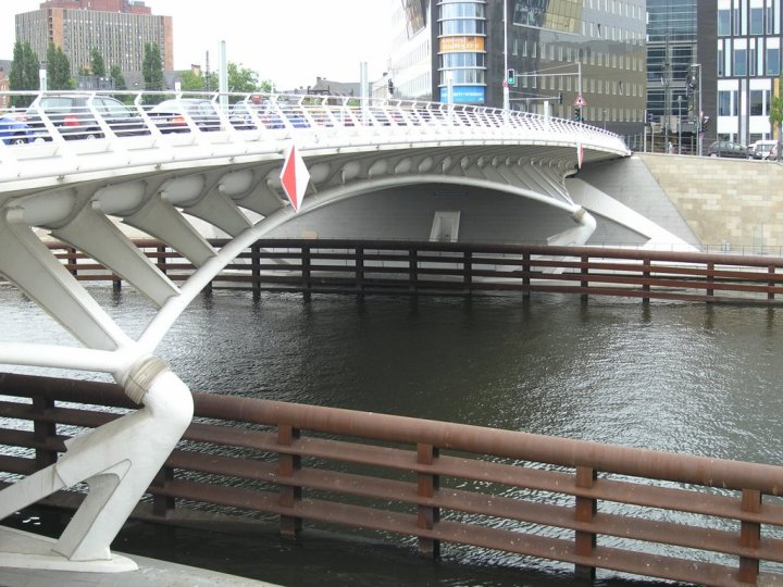 Puente Kronprinzen de Berlín