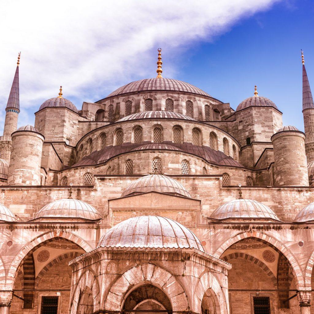 Mezquita de Solimán el Magnífico en Estambul Turquia