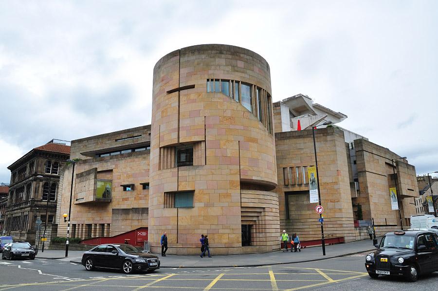 Museo Nacional de Escocia en Edimburgo