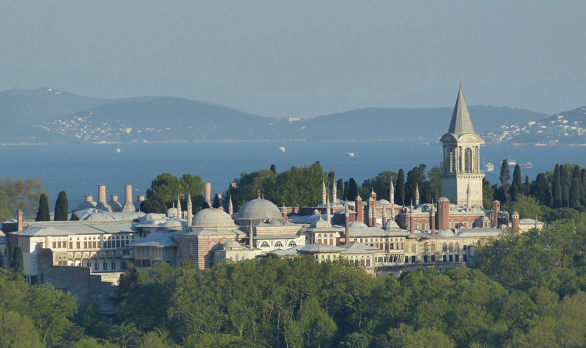 Palacio Topkapi en Estambul