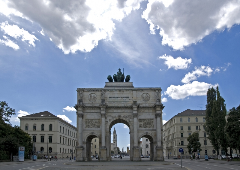 Puerta de la Victoria de Múnich