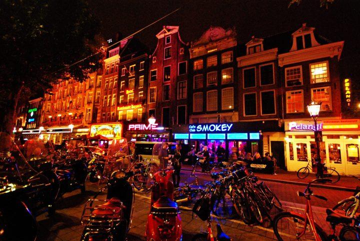 Rembrandtplein en Ámsterdam