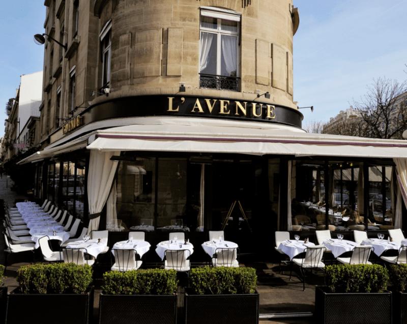 Restaurante L'Avenue en París