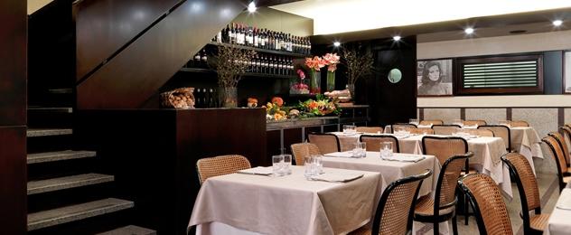Restaurante Paper Moon en Milán