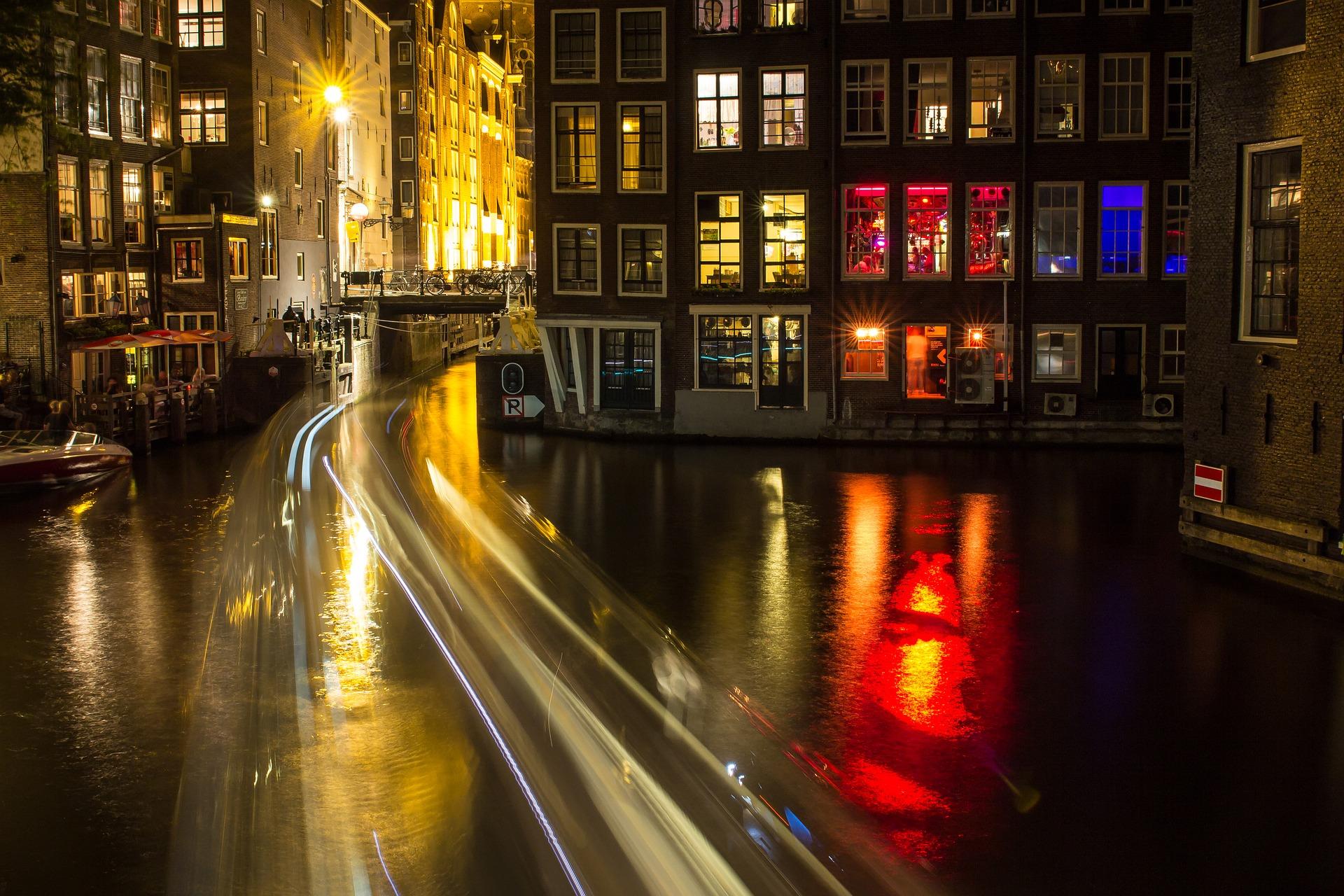 Salir por Ámsterdam