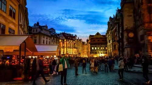 Salir por Praga