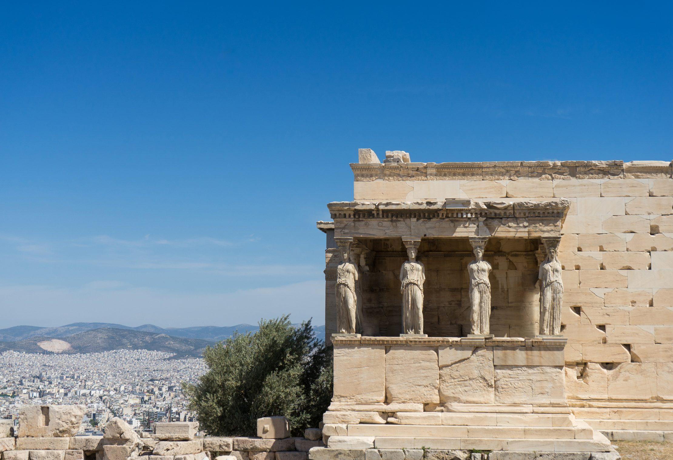 Partenón en Atenas