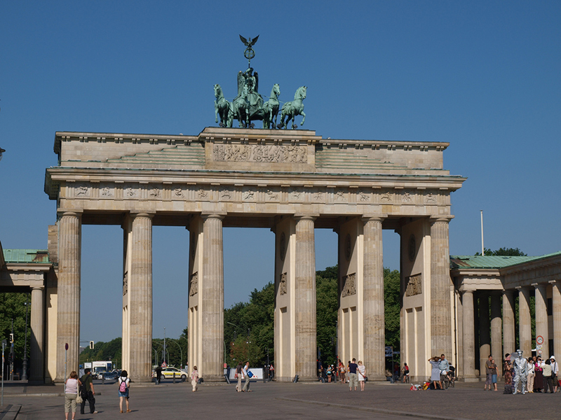 Puerta de Brandeburgo de Berlín