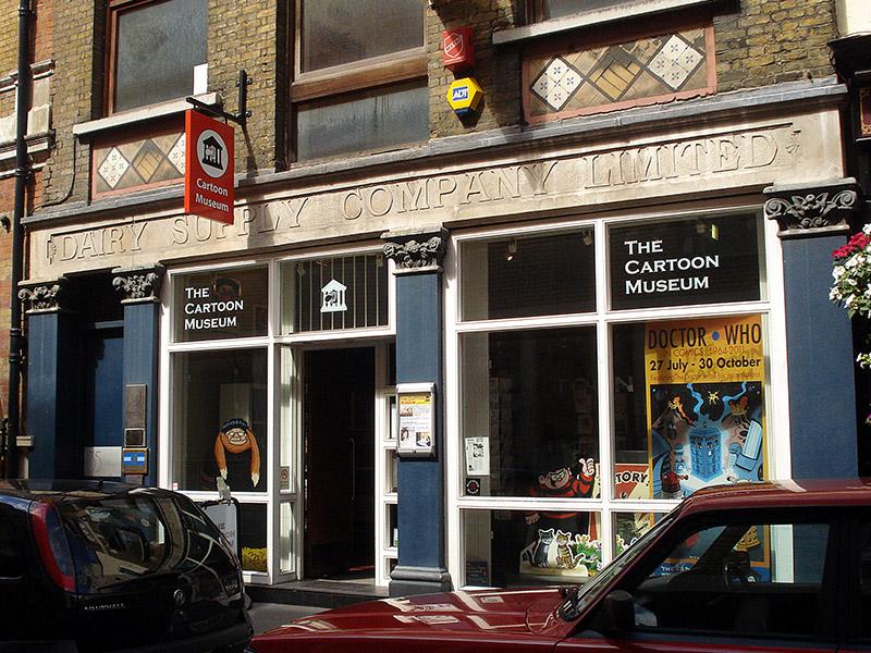 Museo del Cómic en Londres