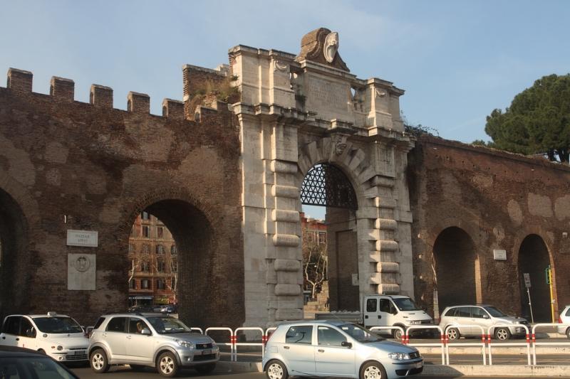 Museo de las Murallas Aurelianas en Roma