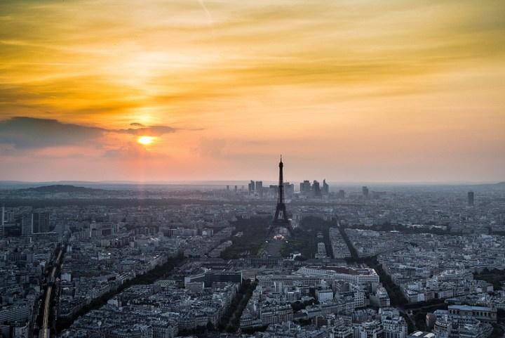 Parísdetenida en el Tiempo