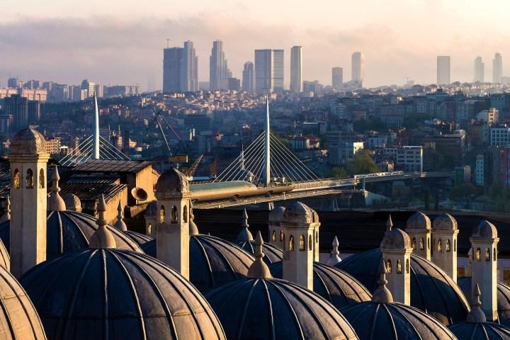 Antigua y Moderna Estambul