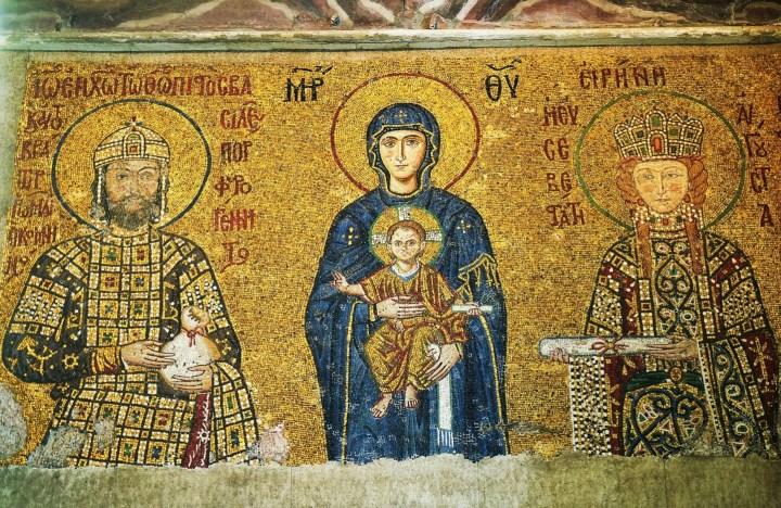 Mosaico Bizantino en Santa Sofía