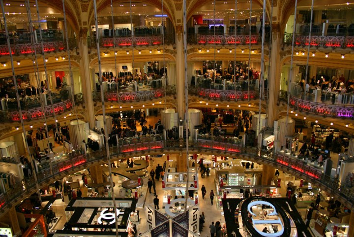 Galeries Lafayette Paris Haussmann