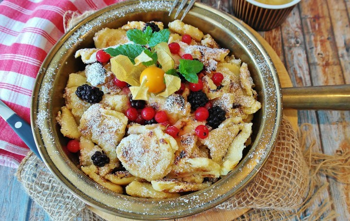Kaiserschmarrn - typical Austrian food