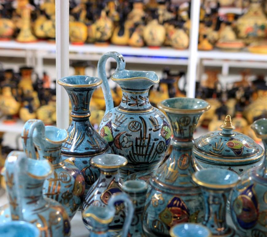Comprar ceramica en Atenas