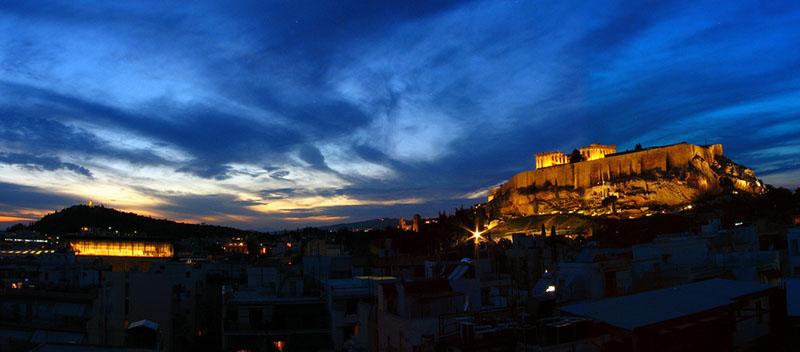 Salir por Atenas