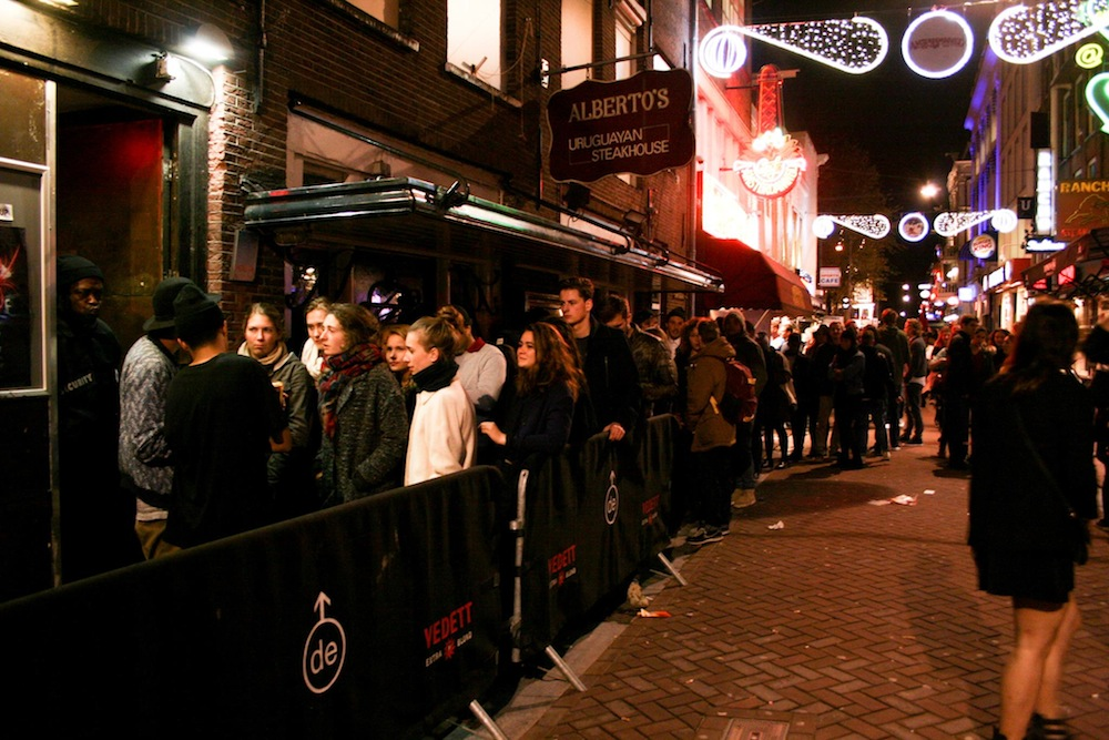 Club Up en Ámsterdam