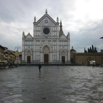 Iglesia Santa Croce en Florencia