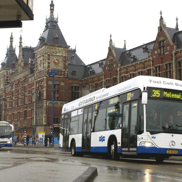 Autobuses de Ámsterdam