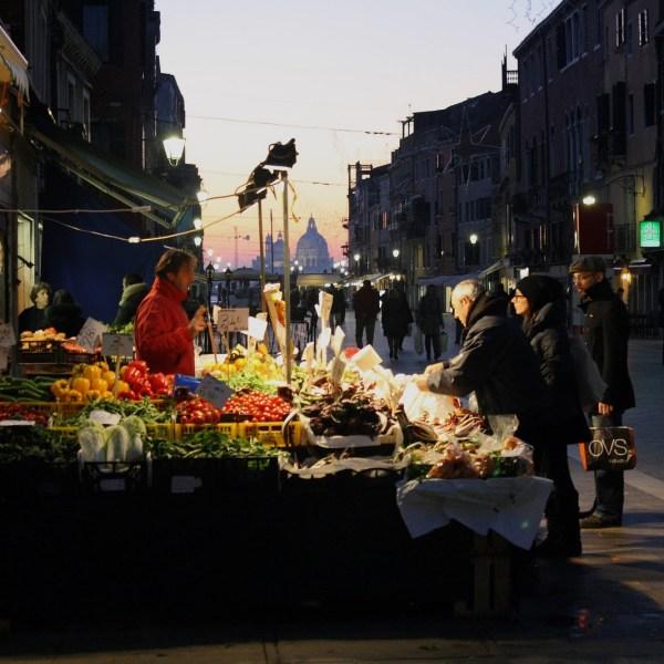 Mercado de la Via Garibaldi de Venecia