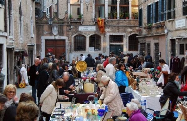 Mercadillo de los Milagros de Venecia