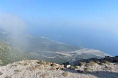 Airplane-like view from the Llogara Pass, Albania