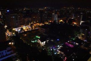 Tirana by night
