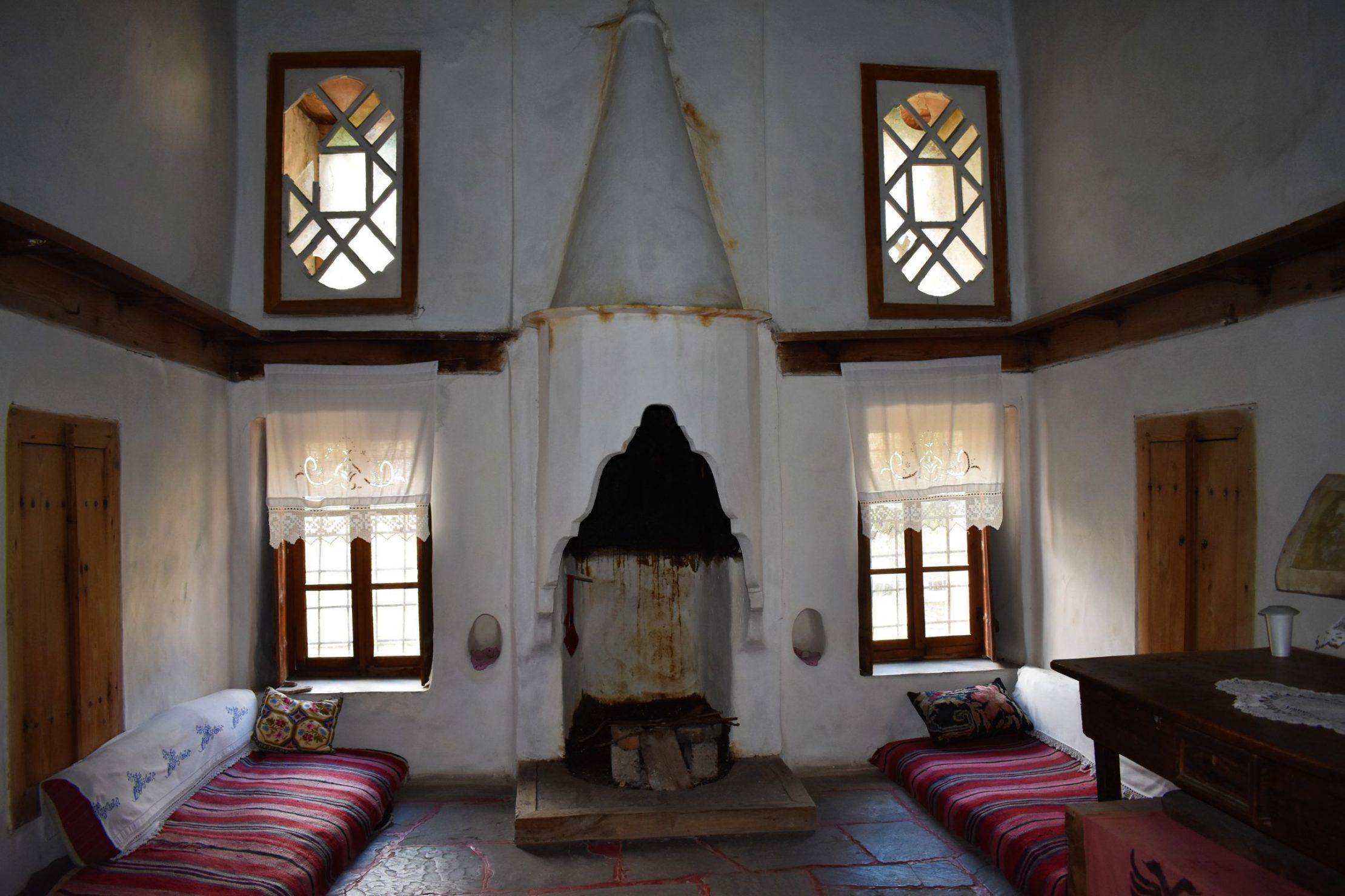 Traditional old Skenduli House in Gjirokastra, Albania