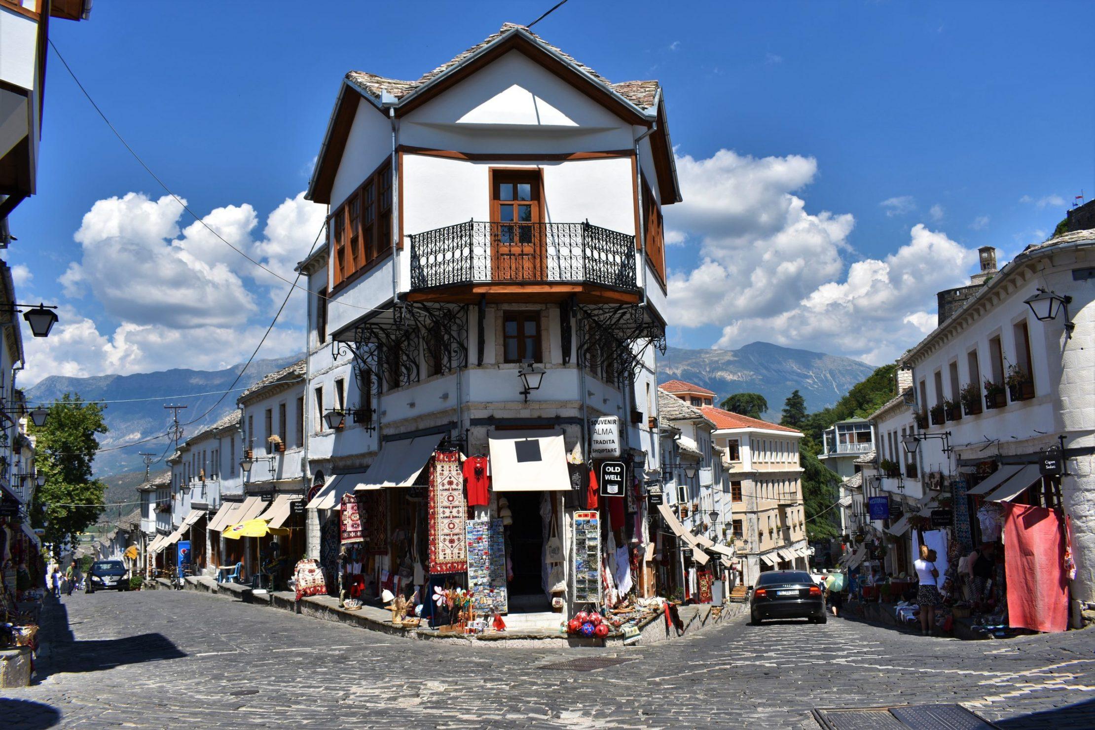 Unique Ottoman architecture of Gjirokastra