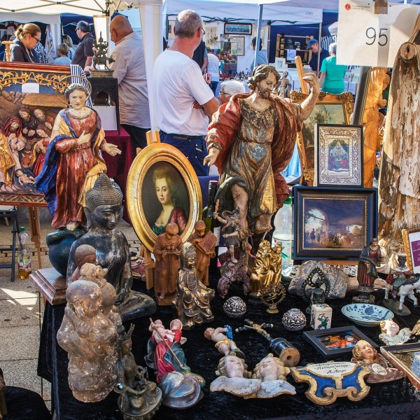 Antique market in Venice