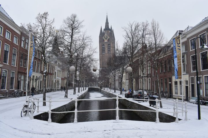 Winter in Delft