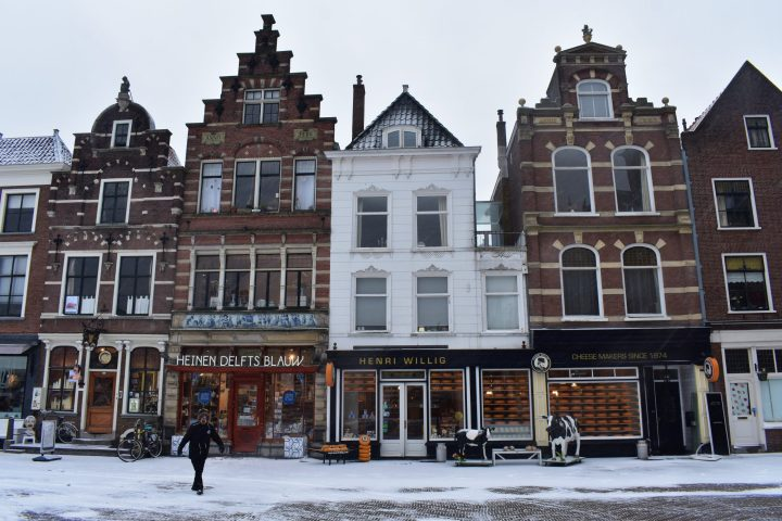 Lovely houses in Delft