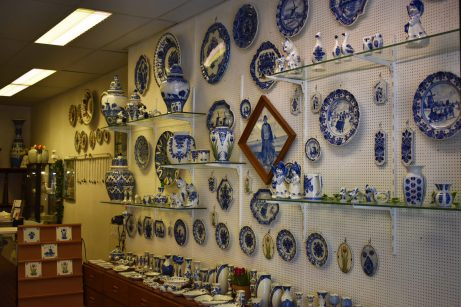 Delftware display