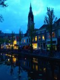 Delft de noche