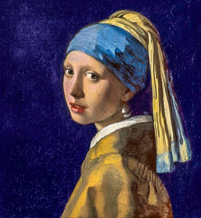 Girl with the Pearl Earring by J. Vermeer
