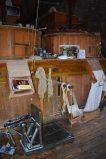 Interior del molino de viento De Roos en delft