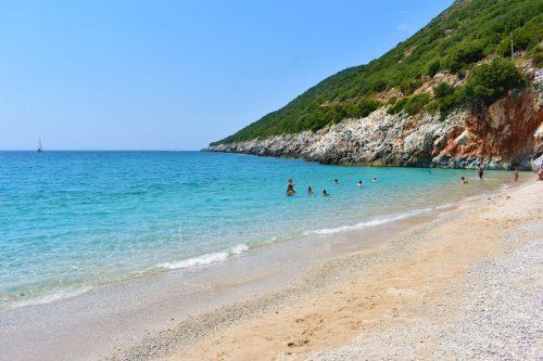 Is Albania safe? Perfect beach in Gjipe, Albania
