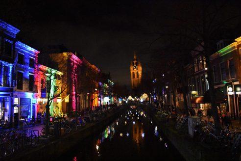 La torre inclinada de Delft.
